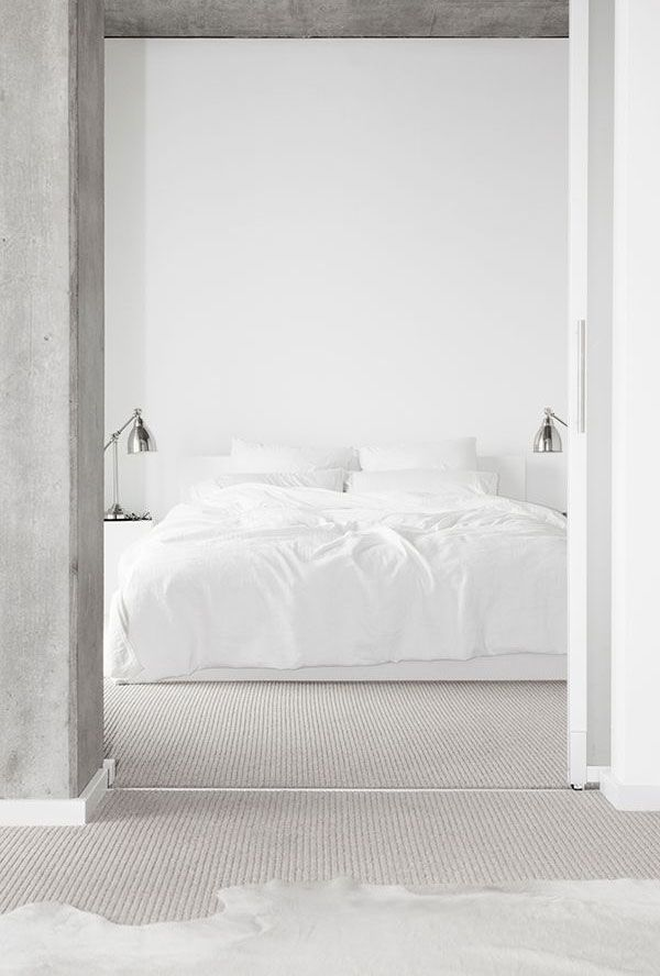 White Master Bedroom Decorating Ideas