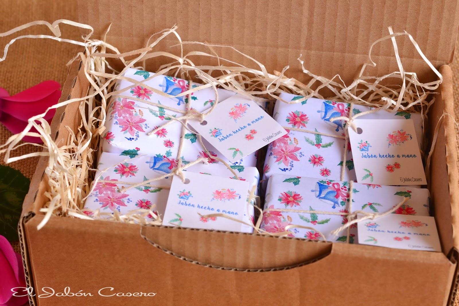 El jab n casero regalos para la navidad jabones artesanales - Detalles navidenos caseros ...