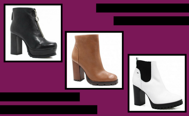 Ankle Boots Tratoradas