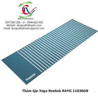Thảm tập Yoga Reebok RAYG 11030GN
