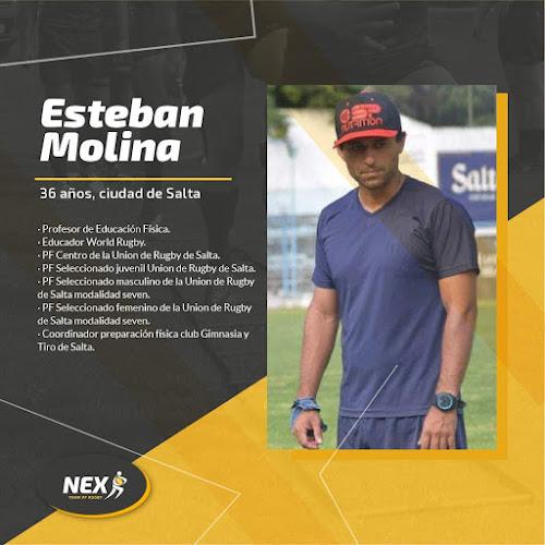 Esteban Molina - Curso de preparación física en el rugby por NEX