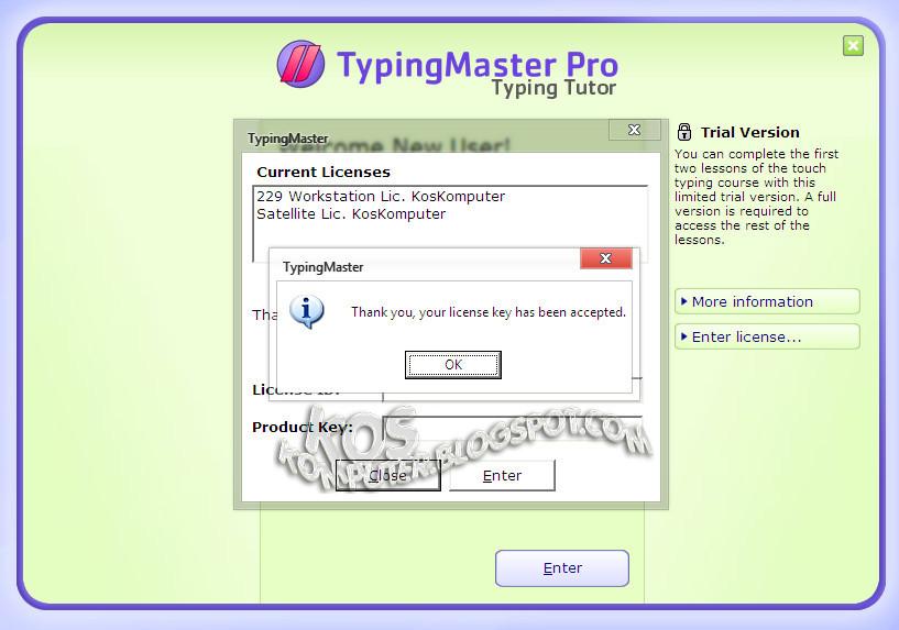 typing master license key