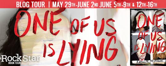 Blog Tour Review & Giveaway: One Of Us Is Lying