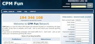 review cpmfun -> sekedar berbagi pengalaman dalam menggunakan cpmfun.com