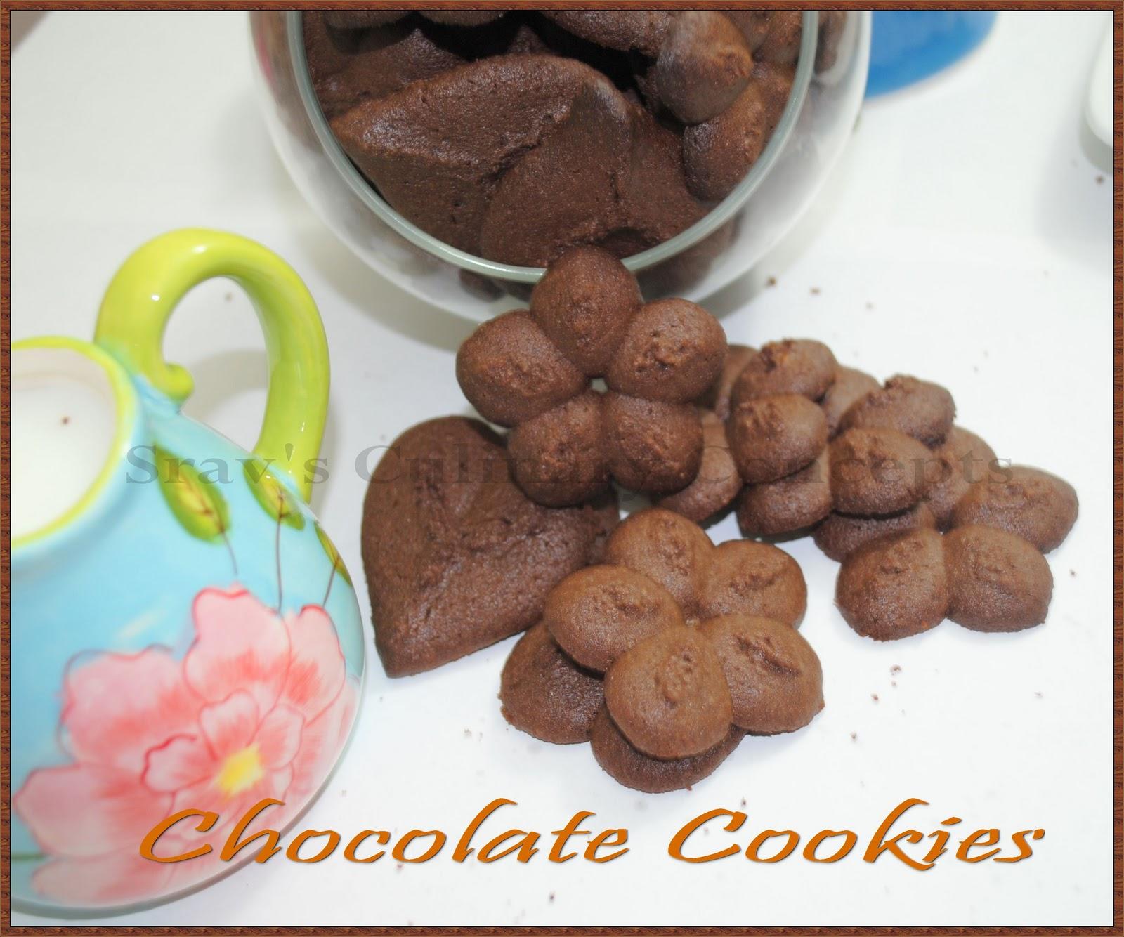 chocolate spritz cookies - photo #16