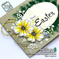 Stampin' Up! Easter Card Idea order craft supplies from Mitosu Crafts UK Online Shop