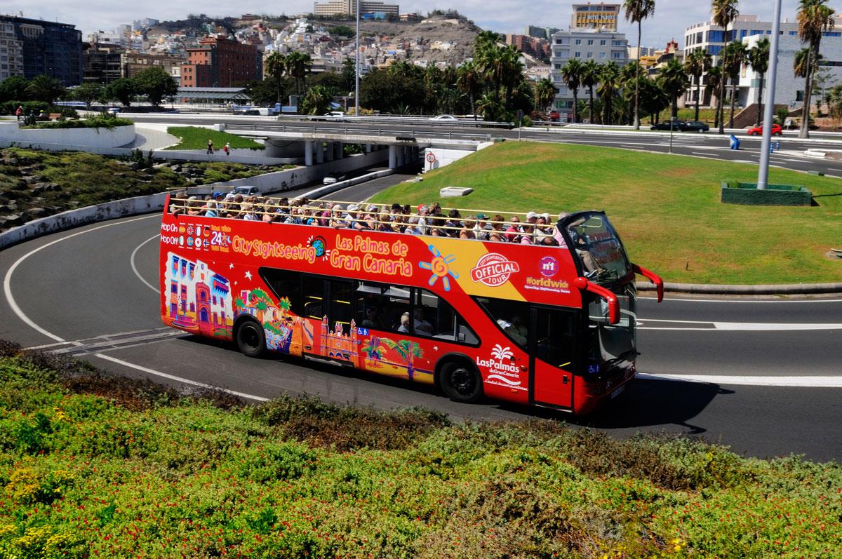 city sightseeing las palmas gran canaria bus turistico