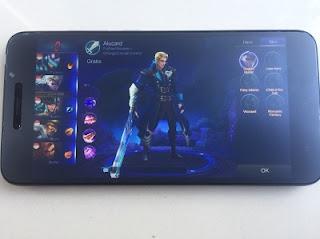 Bermain Game Mobile legend xiaomi redmi note 5a