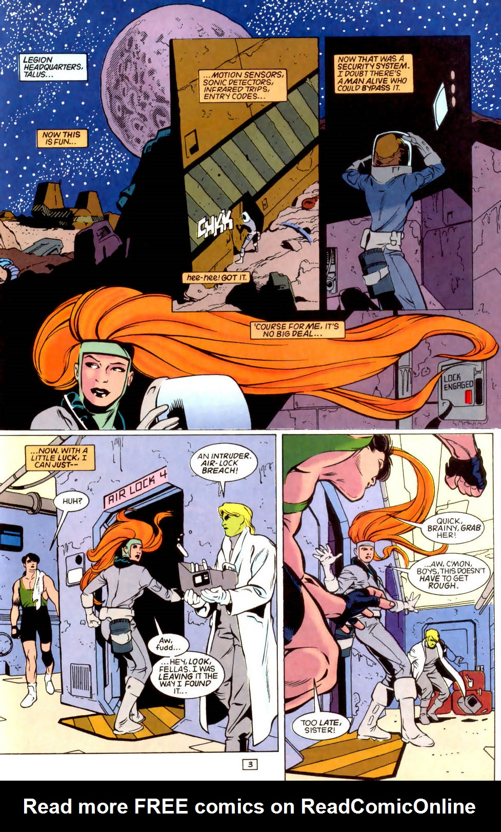 Legion of Super-Heroes (1989) 43 Page 3