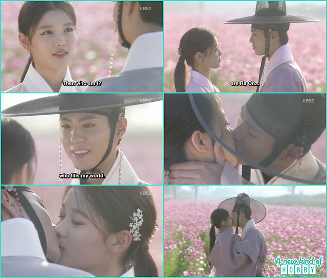 Love In The Moonlight - Episode 18 (Eng Sub) Crown Prince & Ra On Kiss