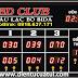 Bang ghi điểm bida điện tử 3 đội chơi - có bộ đếm giờ - BD Club