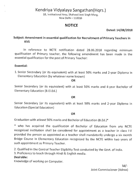 amendment-in-essential-qualification-recruitment-of-primary-teachers-in-kvs.png