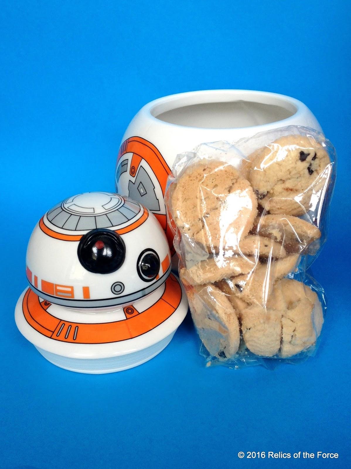 Relics of the force park avenue bb 8 cookie jar - Stormtrooper cookie jar ...
