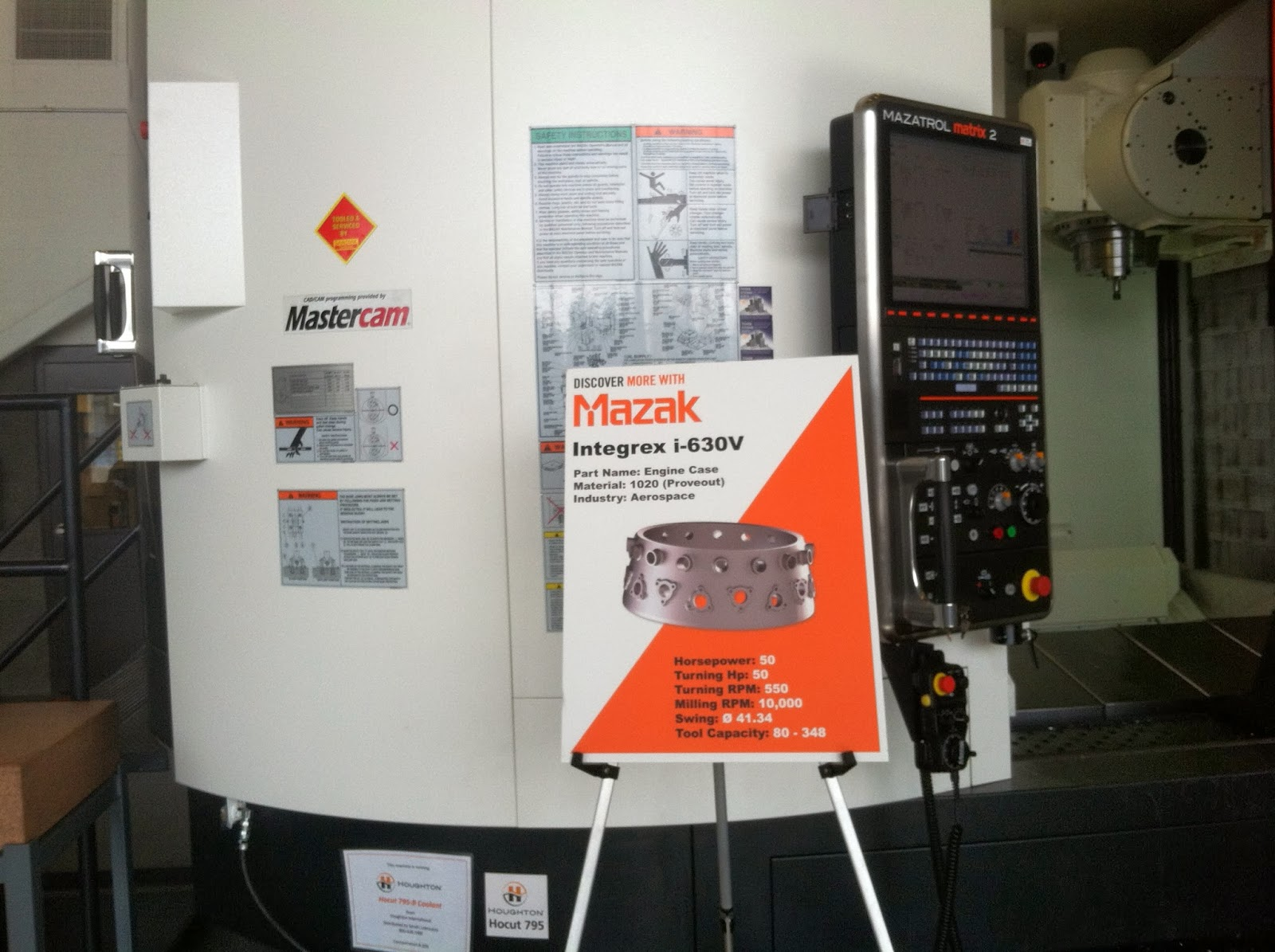 Mastercam's Dynamic Motion Highlighted at Mazak Technology Center