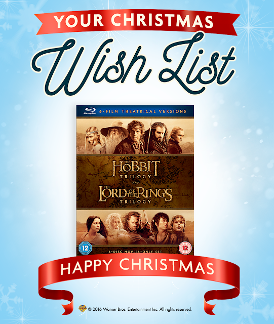 Warner Bros Christmas DVD Wishlist Middle Earth Hobbit Lord of the Rings Box Set