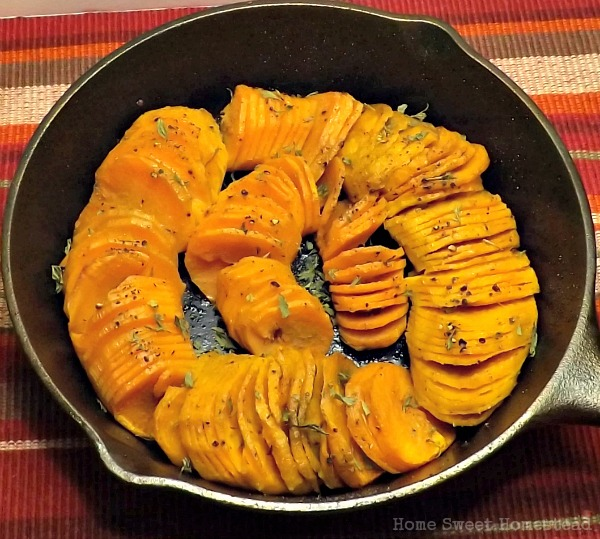 Home Sweet Homestead: Roasted Sweet Potatoes