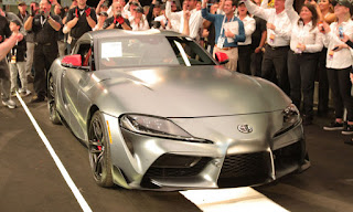 بيع أول سياره تويوتا سوبرا 2020 بمقابل 2.1 مليون دولار!