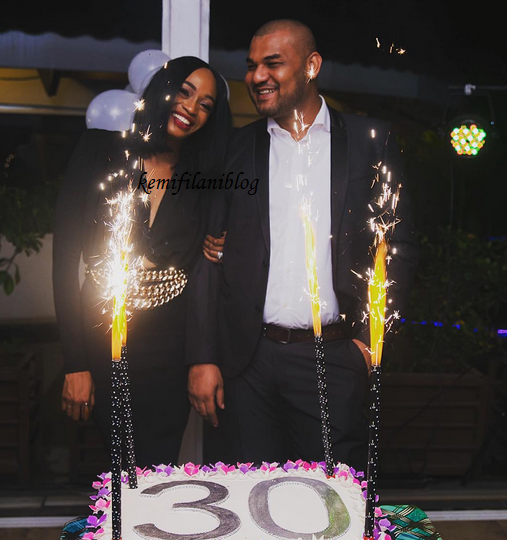 Doyin Dokpesi, wife of AIT's chairman marks 30th birthday in grand style