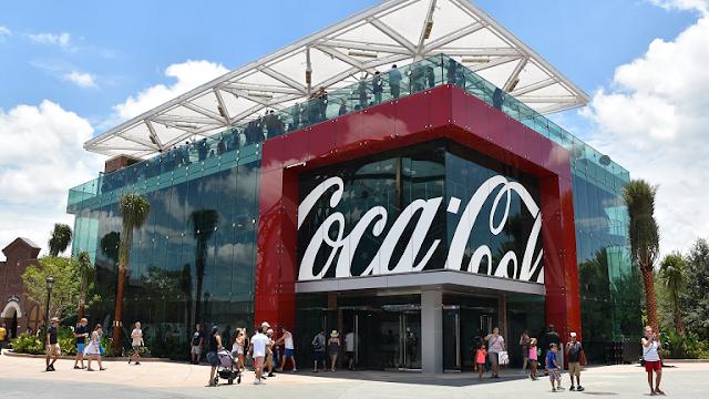 Loja da Coca-Cola na Disney Springs