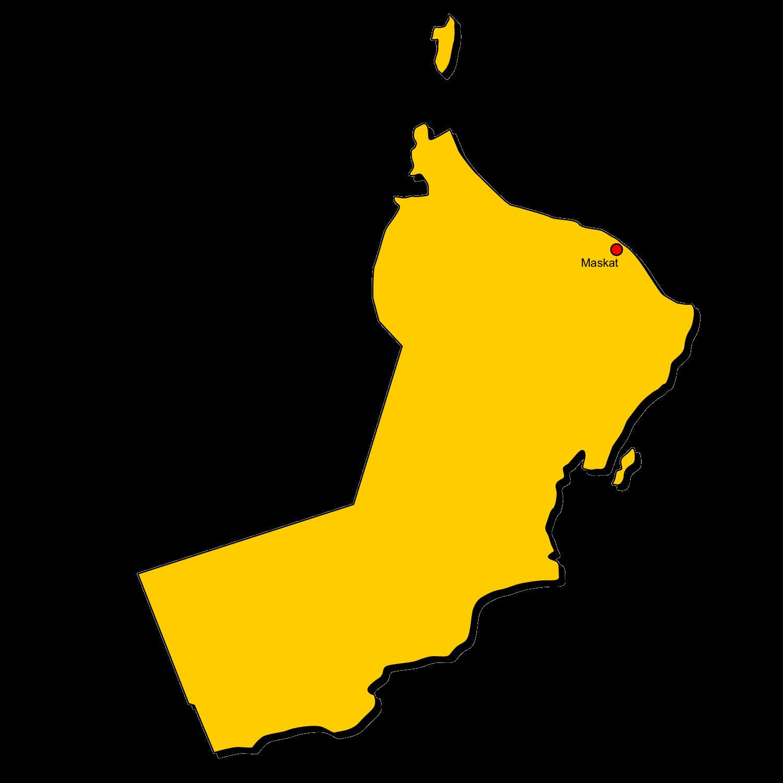 Karte Oman Kostenlos.Oman In Gelb Landkarten Kostenlos Cliparts Kostenlos