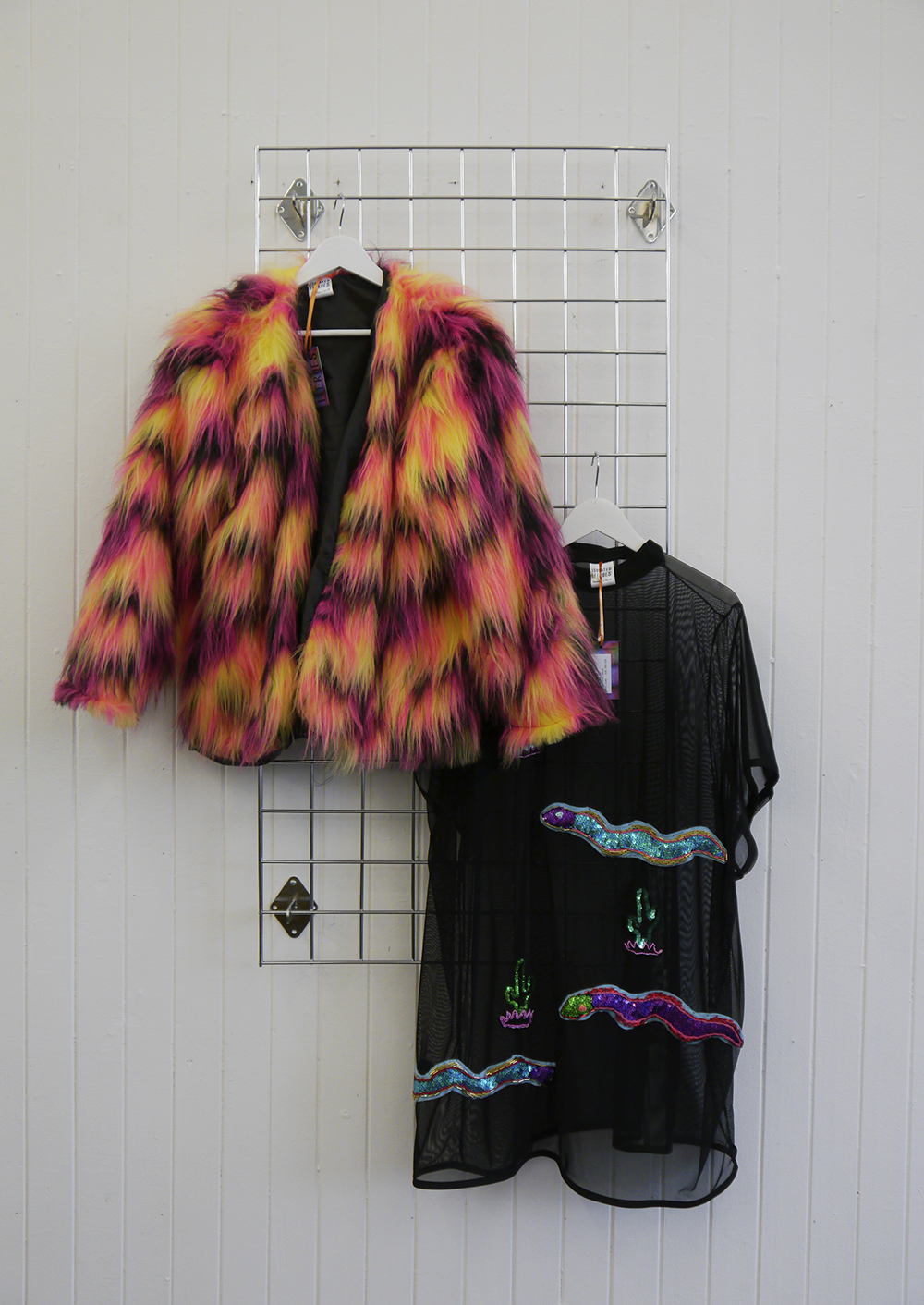 Isolated Heroes, Scottish design, Scottish designer, pop up shop, pop up, Glasgow, South Block, Scottish blogger, Dundee designer, Nevada collection, luxury street wear, sequin dress, The Academy of Makeup, Scottish models, new collection, sequins, fauc fur jacket, sequin tshirt dress