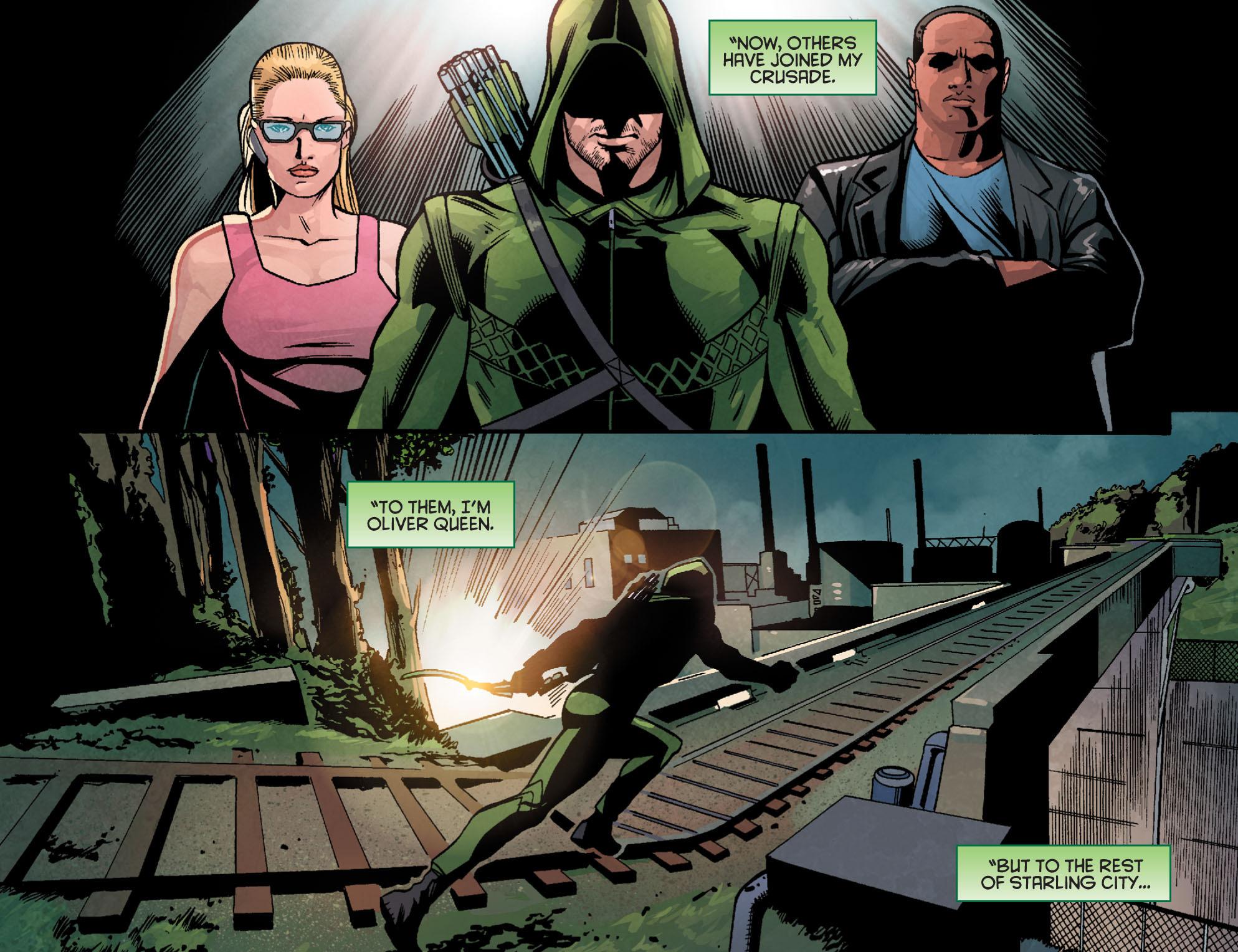 Read online Arrow: Season 2.5 [I] comic -  Issue #24 - 20