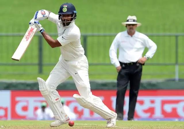 श्रीलंका के खिलाफ तीसरे टेस्ट मेच में धवन का शतक - पहले दिन भारत 329-6