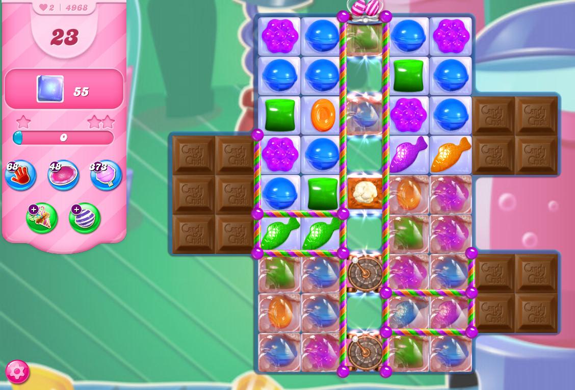 Candy Crush Saga level 4968