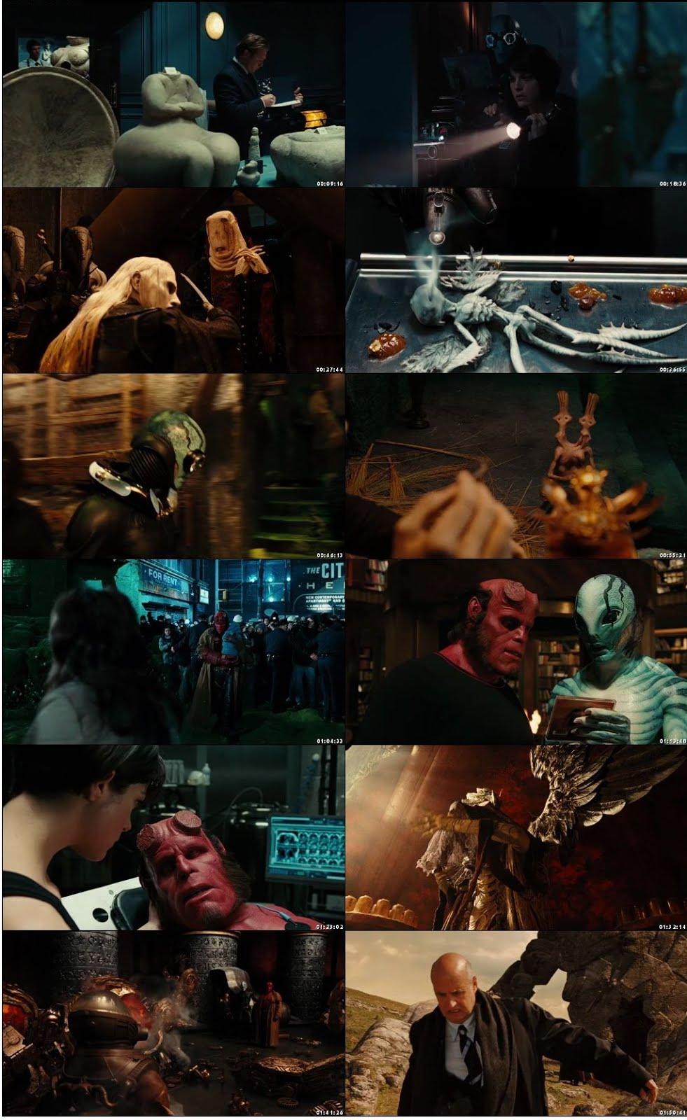 Hellboy II: The Golden Army 2008 Dual Audio Hindi 300MB BluRay 480p x264