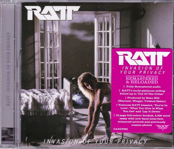 RATT - Invasion Of Your Privacy [Rock Candy remaster] full
