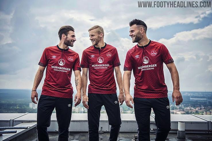 outlet store 7ae22 0b8f1 Umbro Nürnberg 18-19 Bundesliga Home Kit Released - Footy ...