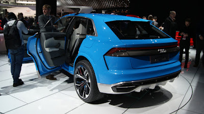 Audi Q8 SUV Concept event image
