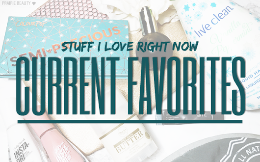 Prairie Beauty: CURRENT FAVORITES: Stuff I Love Right Now