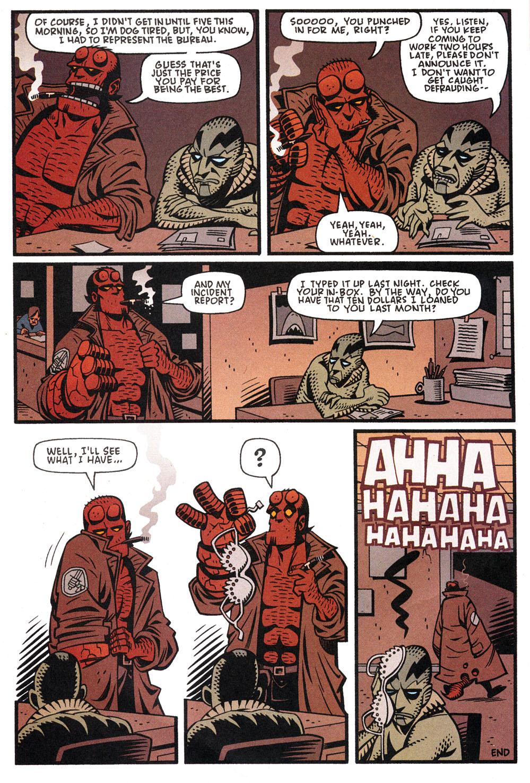 Read online Hellboy: Weird Tales comic -  Issue #4 - 20