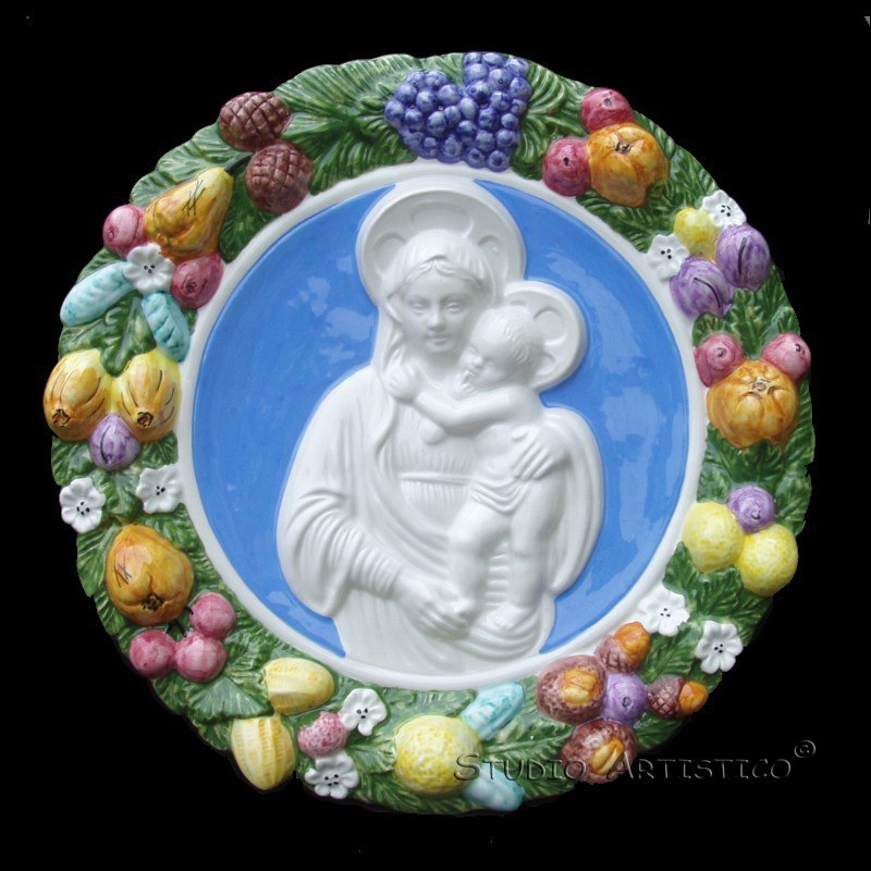 I love my Della Robbia Madonna and Child! Great seller! Quick delivery!