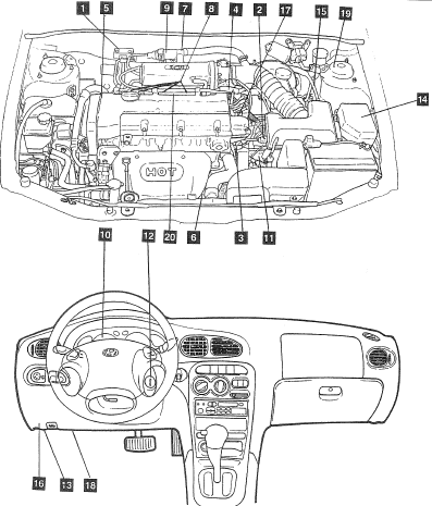Hyundai Xg350 Engine Compartment Diagram Jaguar XK8 Engine