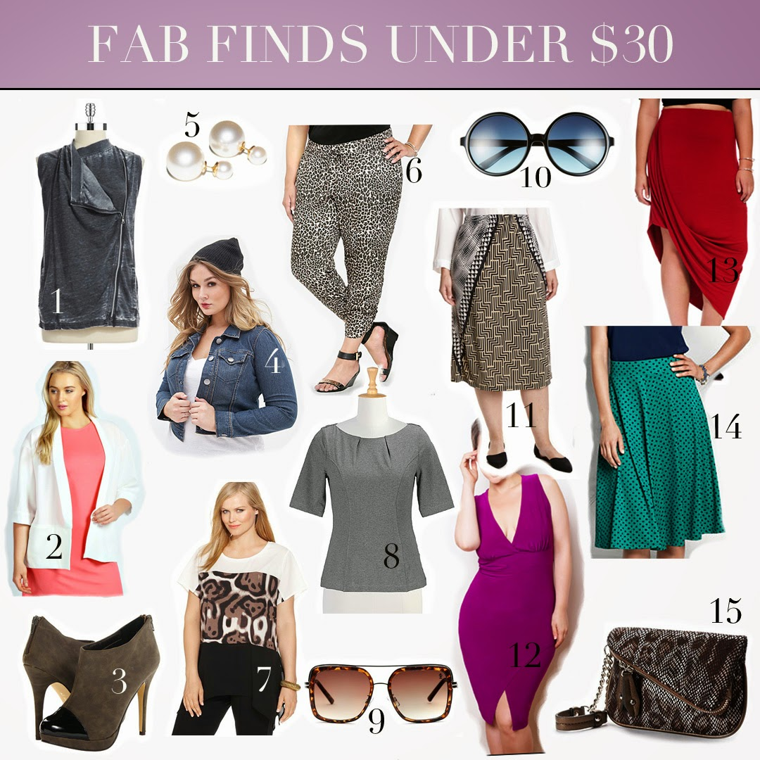 plus size fab finds under $30