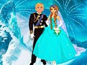 Boda de Anna Frozen y Kristoff