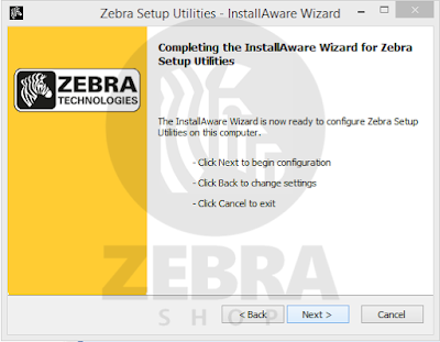 Zebra Mestre: Conheça o Zebra Setup Utilities
