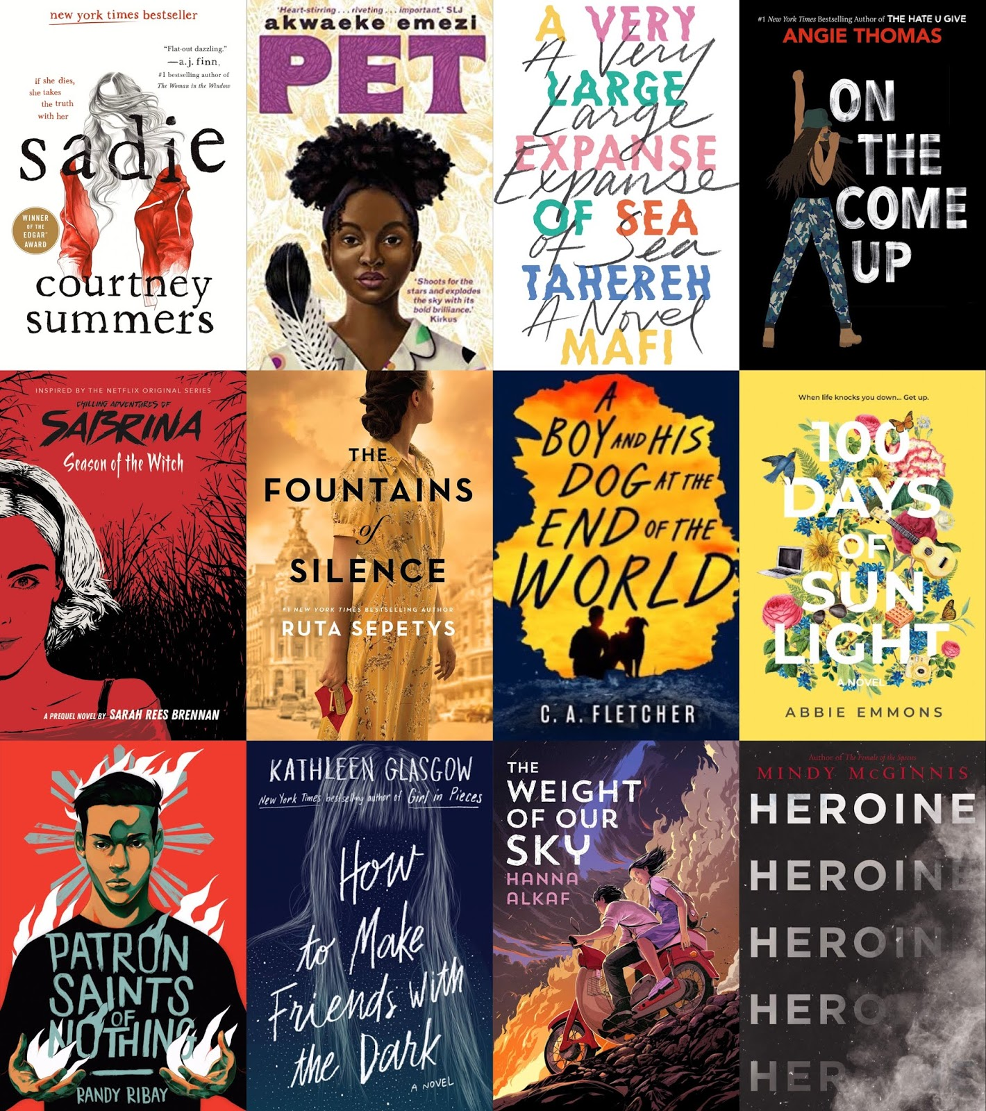 Superior Young Adult Fiction | Addicted to Media | Top Ten Books of 2019