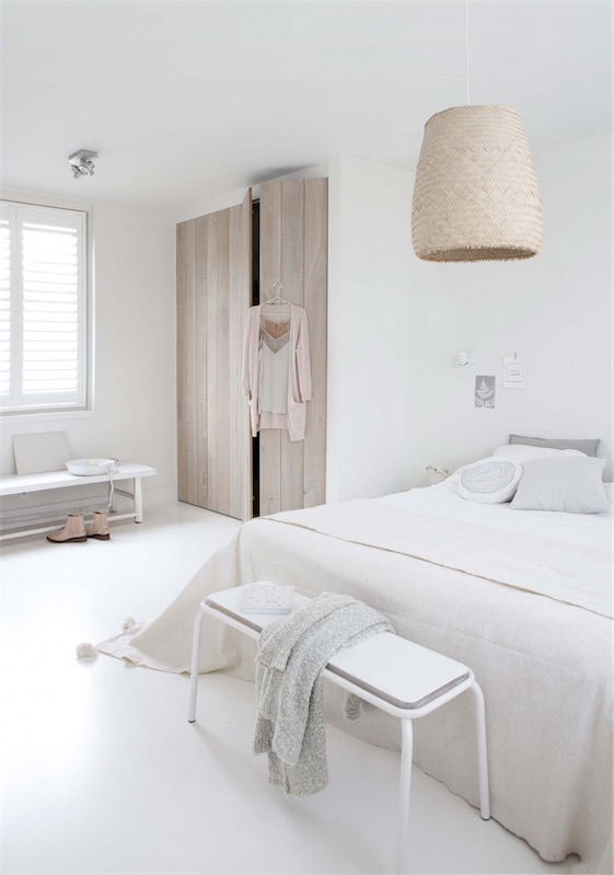 dormitorio total white chicanddeco