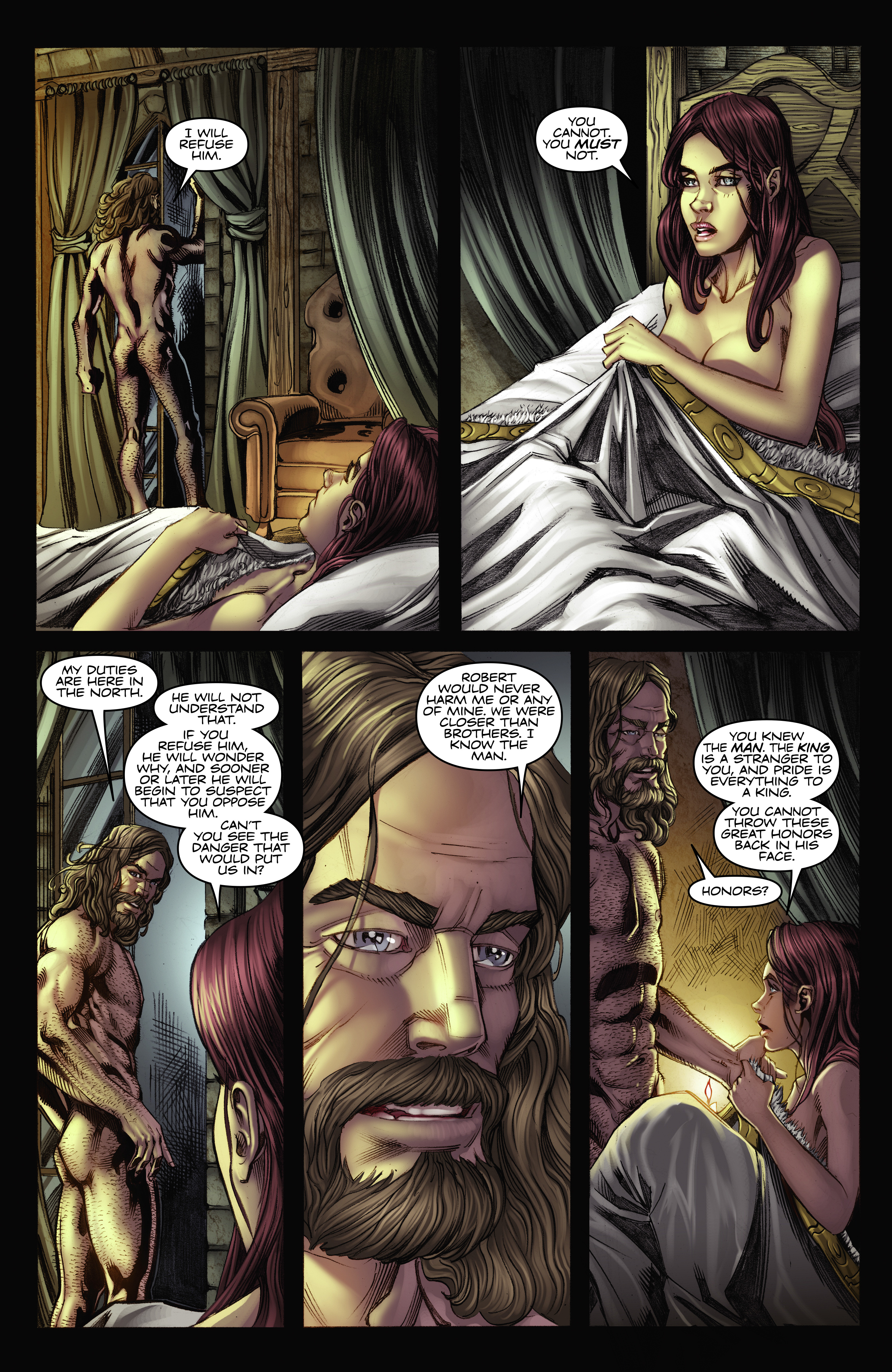 Read online A Game Of Thrones comic -  Issue #2 - 23