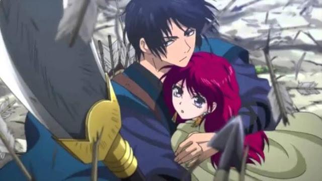 Akatsuki no Yona - Daftar Rekomendasi Anime Action Romance Terbaik