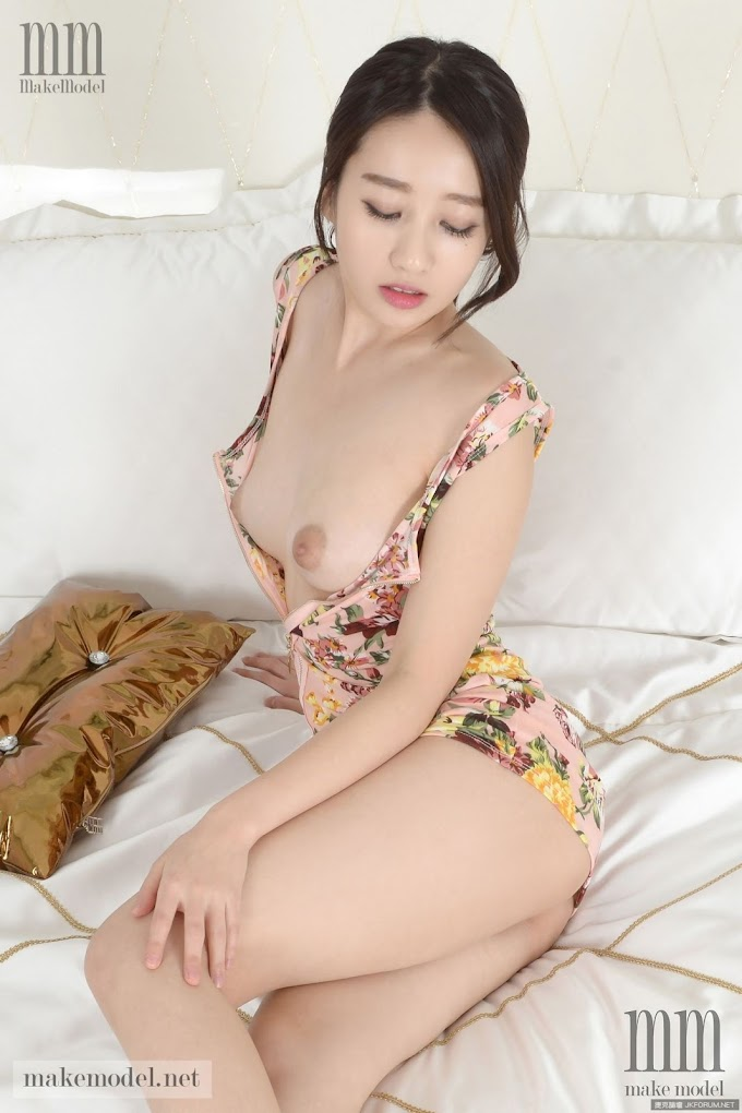 Korean Nude Model Sua Make Model Lingerieless & Opened