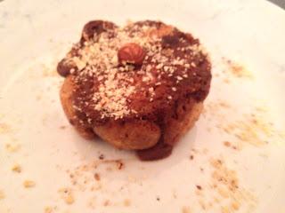 Mini-charlotte sans gluten sans lactose chocolat noir / noisettes - generous bakery