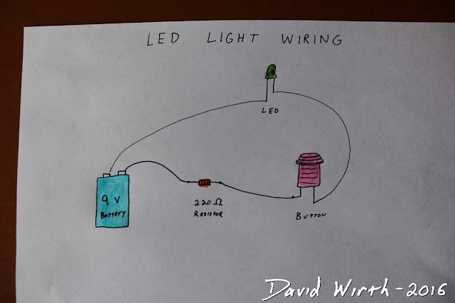 how to wire led and arcade button