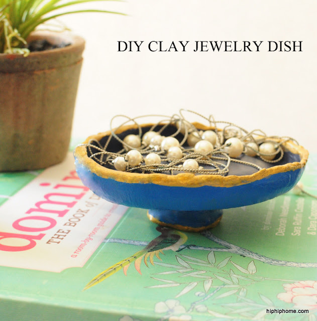 diy clay dish