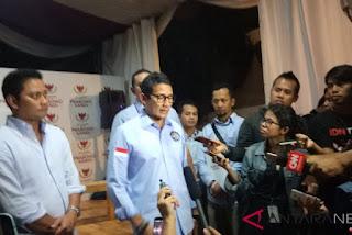 Calon Wakil Presiden, Sandiaga Salahuddin Uno