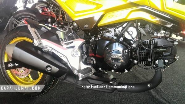 Baru Honda MSX125SF Naked Mini