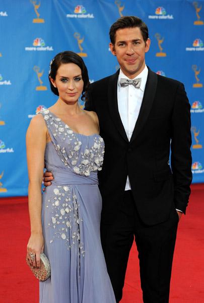 Detroit'Soul: John Krasinski and Emily Blunt Exchange Vows ...